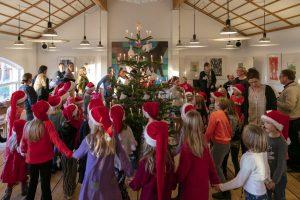 Krybbespil og juletræsfest, foto: John Lauritzen