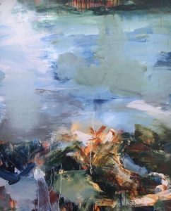 Billede 4 - Øssur Mohr - brudstykke fra maleri (2)