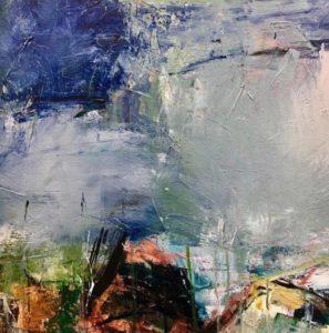 Billede 4 - Øssur Mohr - brudstykke fra maleri